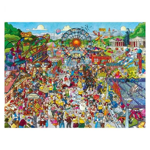 Puzzle 1500 Piezas Oktoberfest