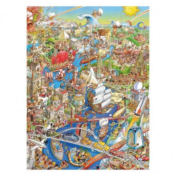 Puzzle 1500 Piezas History River