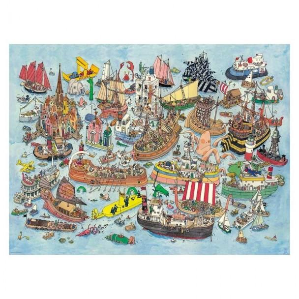 Puzzle 1500 Piezas Regatta