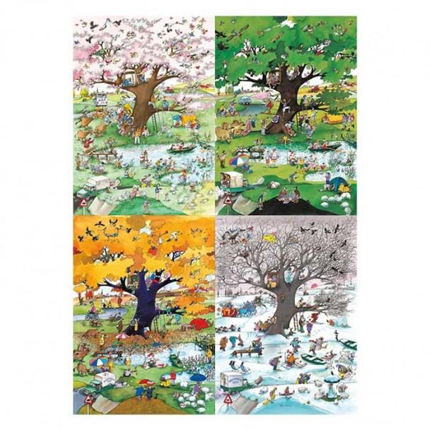 Puzzle 2000 Piezas 4 Seasons