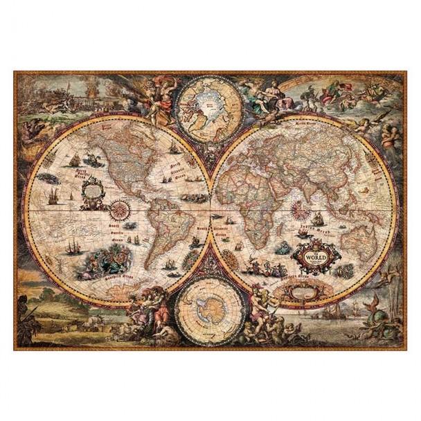 Puzzle 2000 Piezas Vintage World