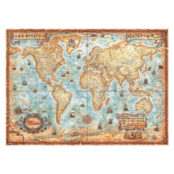 Puzzle 2000 Piezas The World