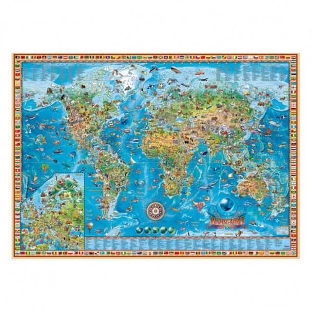 Puzzle 2000 Piezas Amazing World