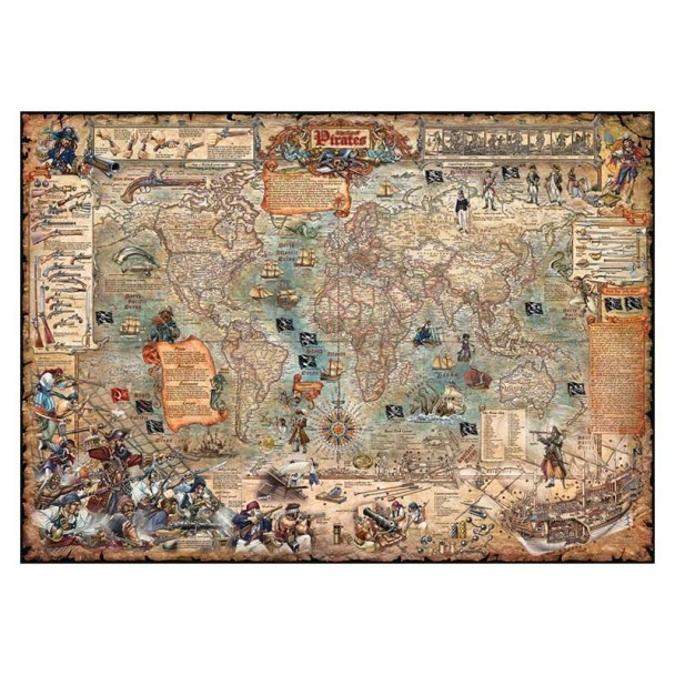 Puzzle 2000 Piezas Pirate World