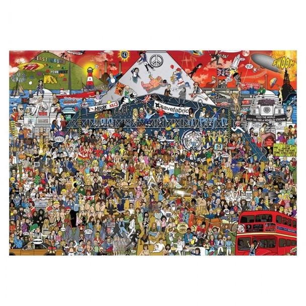 Puzzle 2000 Piezas British Music History