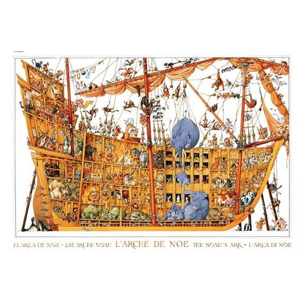 Puzzle 2000 Piezas Arche Noah