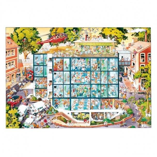 Puzzle 2000 Piezas Emergency Room