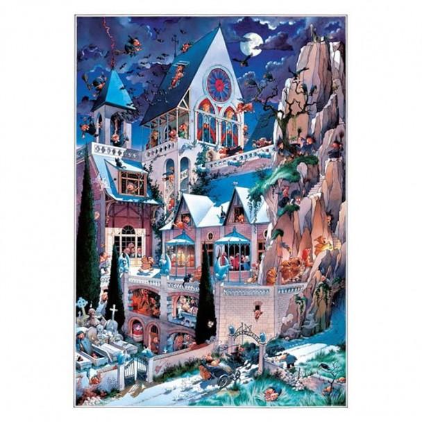 Puzzle 2000 Piezas Castle of Horror