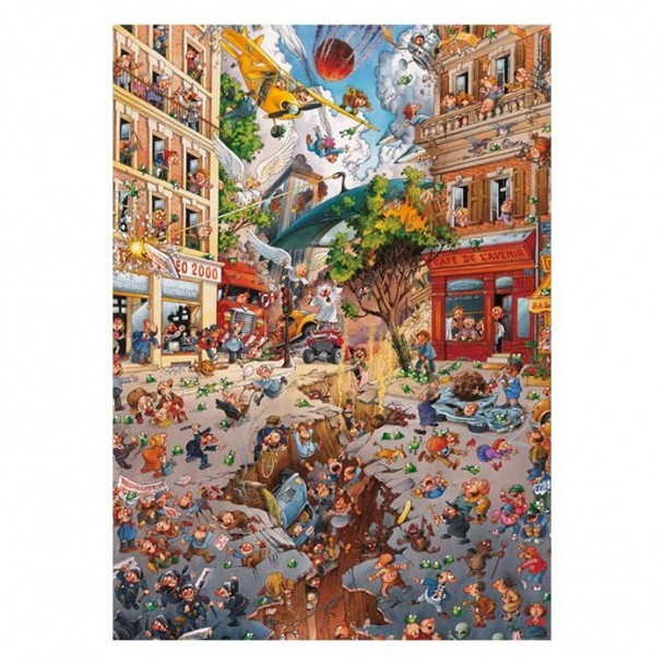 Puzzle 2000 Piezas Apocalypse