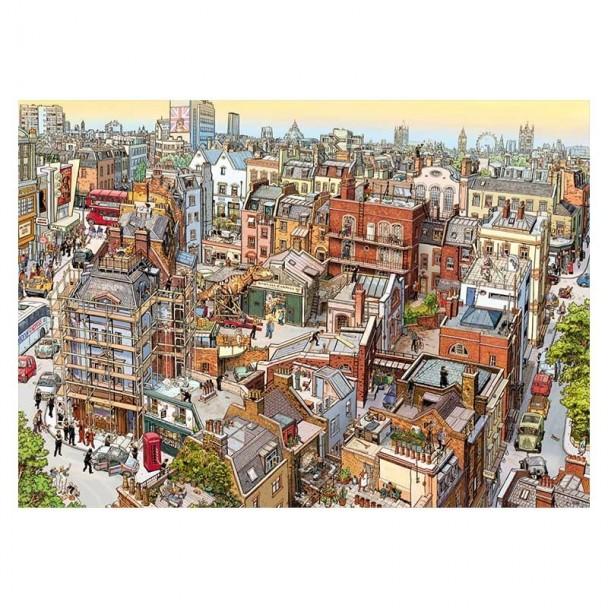 Puzzle 2000 Piezas Sherlock & Co.