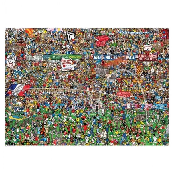 Puzzle 3000 Piezas Football History