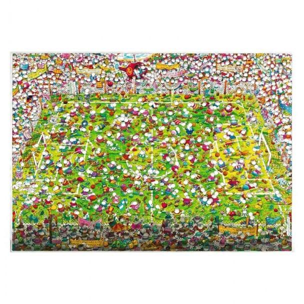 Puzzle 4000 Piezas Crazy World Cup