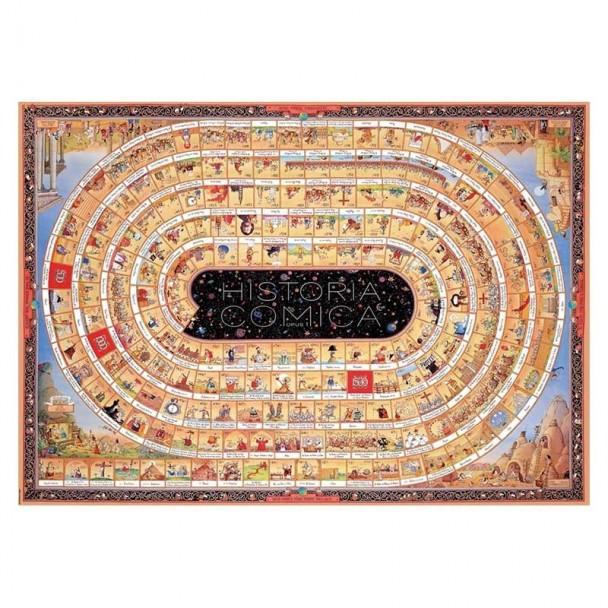 Puzzle 4000 Piezas Historia Comica 1