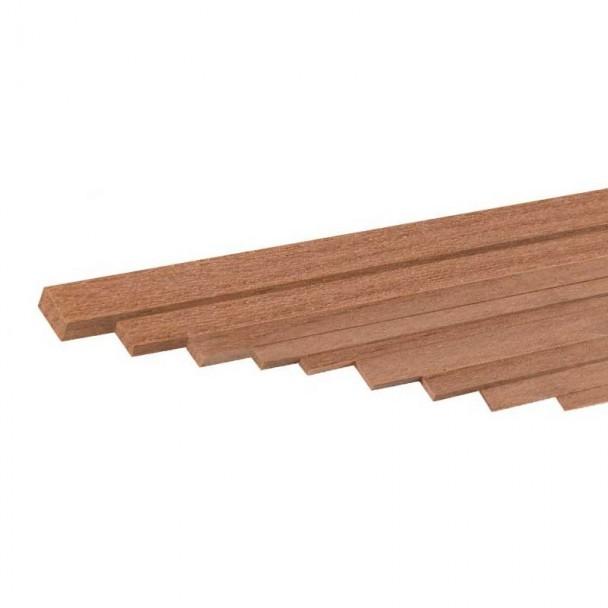 Listón de Nogal 1,5 x 6 mm (4 uds)