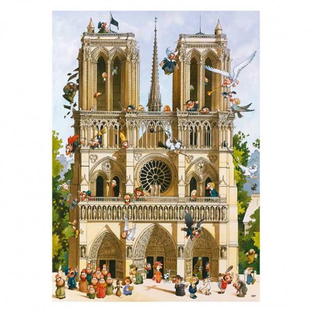 Puzzle 1000 Piezas ¡Vive Notre Dame!