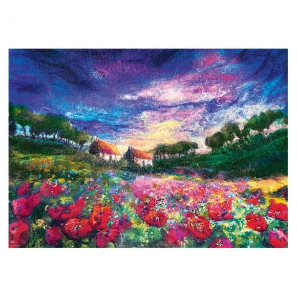 Puzzle 1000 Piezas Sundown Poppies