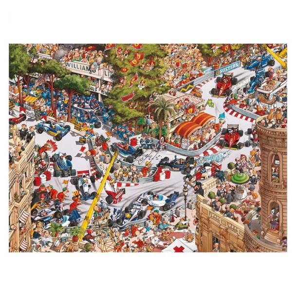 Puzzle 1500 Piezas Monaco Classics