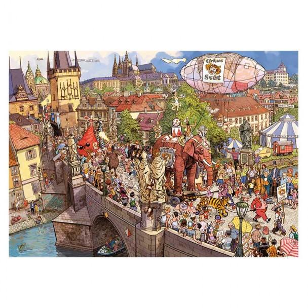 Puzzle 2000 Piezas Street Parade