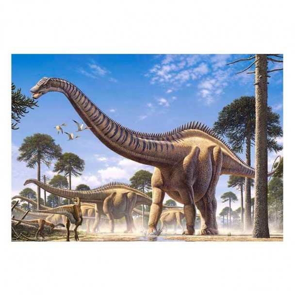 Puzzle 260 Piezas Súper Dinosaurios