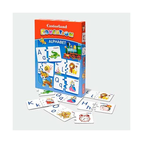Puzzle Educacional Alfabeto (Versión Inglés)