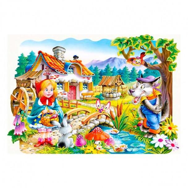 Puzzle 20 Maxi Piezas Caperucita Roja