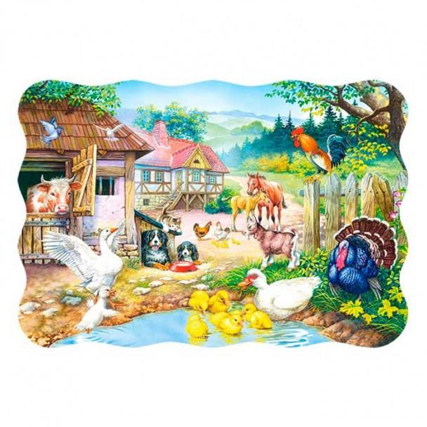 Puzzle 30 Piezas Granja de Animales