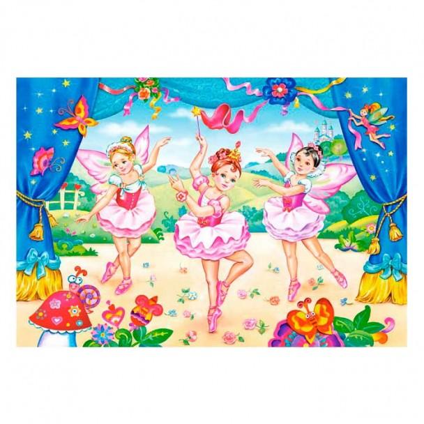 Puzzle 40 Maxi Piezas Pequeñas Bailarinas