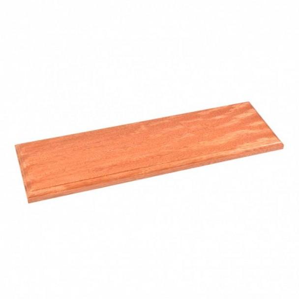 Peana de Madera Barnizada 500 x 150 x 20 mm