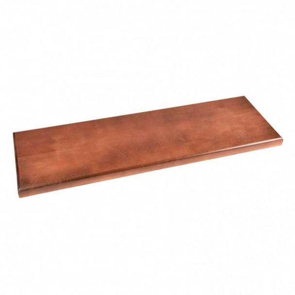 Peana de Madera Barnizada 800 x 250 x 30 mm