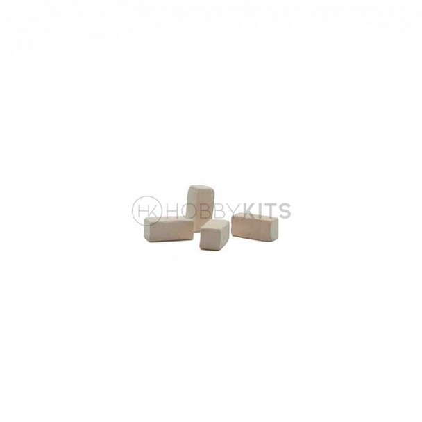 Piedra Base Blanca 10x5x5 mm
