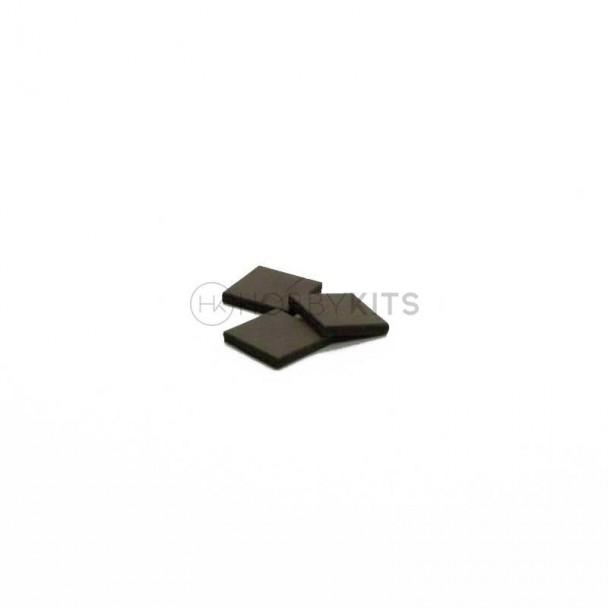 Tejadillo Negro 10x10x1,5 mm (300 uds)