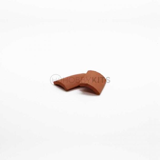 Lomera Teja Curva 30x18 mm (25 uds)