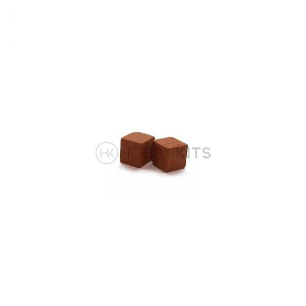 Piedra 15x15x15 mm (25 uds)