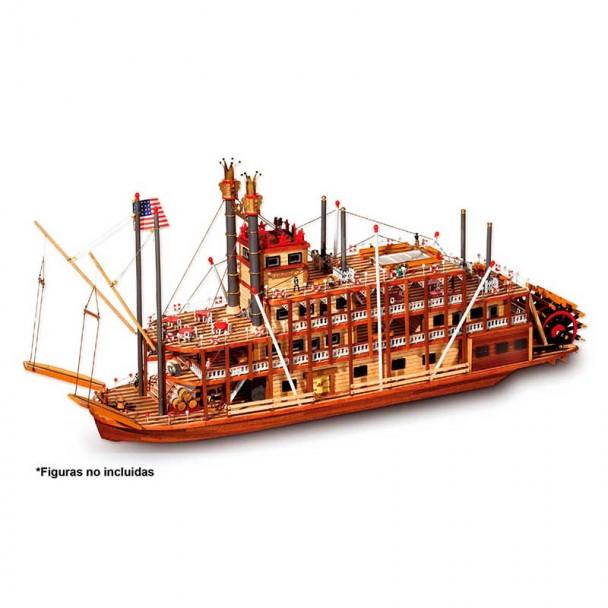 Mississippi - Barco de Vapor 1:80