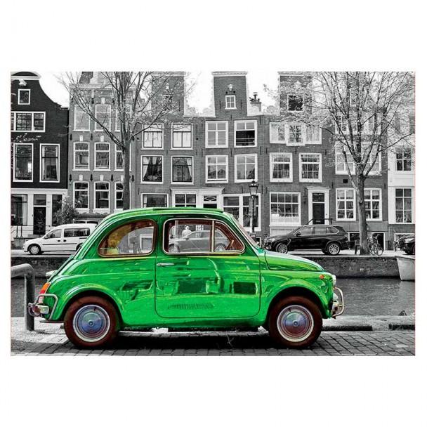 Puzzle 1000 Piezas Coche en Ámsterdam