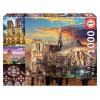 Puzzle 1000 Piezas Collage de Notre Dame, París