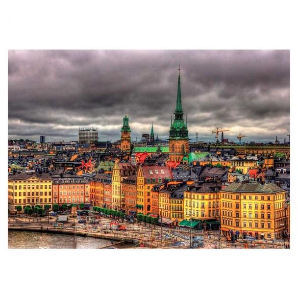 Puzzle 1000 Piezas Vistas de Estocolmo, Suecia