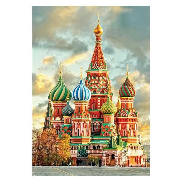 Puzzle 1000 Piezas Catedral de San Basilio, Moscú