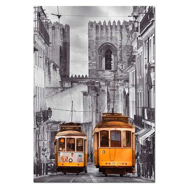 Puzzle 1500 Piezas Barrio de la Alfama, Lisboa
