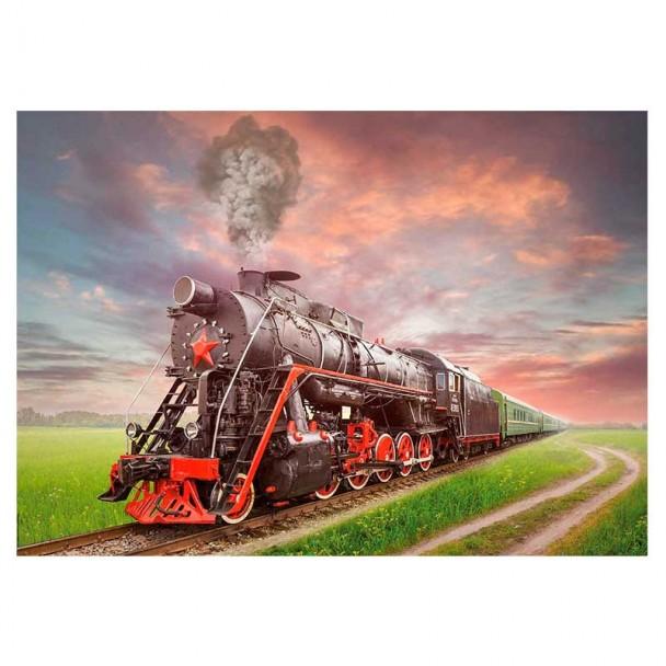 Puzzle 2000 Piezas Locomotora de Vapor