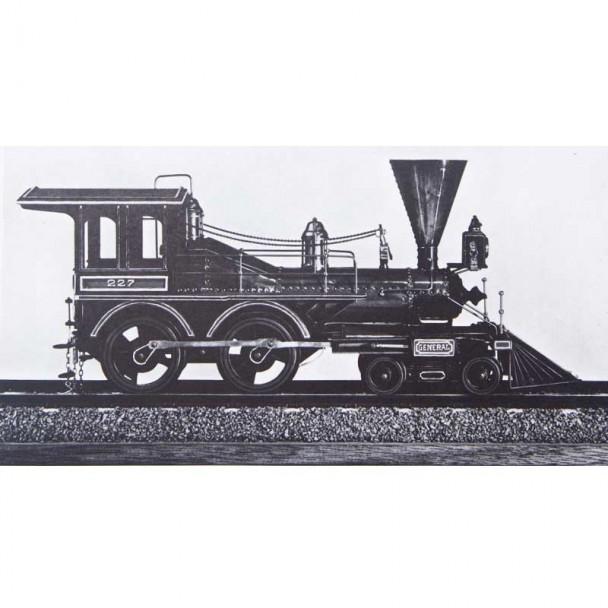 Planos Locomotora de 1860