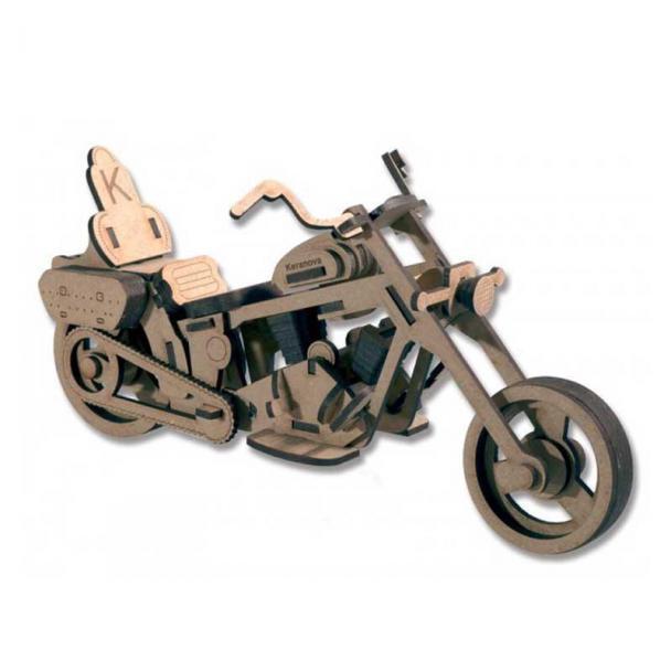 Moto Custom - Pequeña